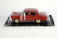 GAZ-M-21 Volga first series 1956 dark-red 1:43 DeAgostini Auto Legends USSR #41