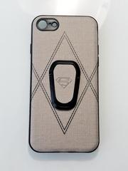 Чехол Супермен с подставкой для iPhone 7/8 и X/Xs