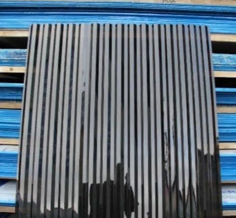 Профилированный поликарбонат трапеция МП-20 прозрачный бронза коричневый 1,05х3 0,8 мм