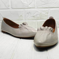 Летние туфли балетки лодочки женские Wollen G036-1-1545-297 Vision.