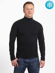 VD100-3 водолазка мужская утепленная, черная