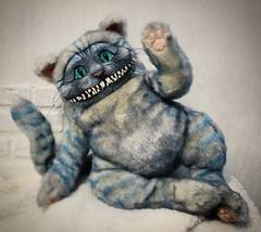 Алиса в Стране чудес кукла Чеширский кот
