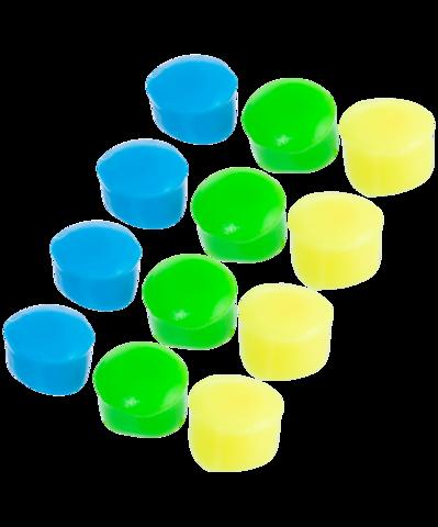 Беруши Kids' Soft Silicone Ear Plugs, LEPY12PK/970, мультиколор