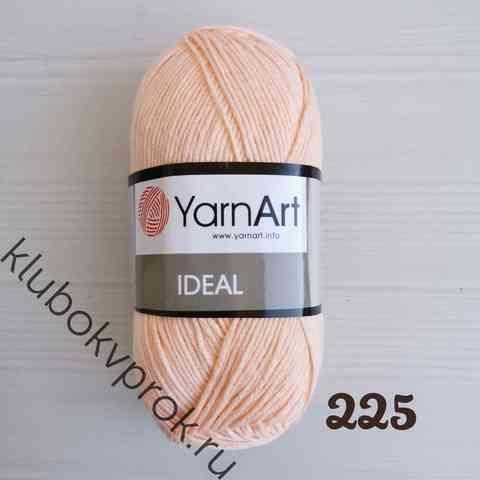 YARNART IDEAL 225, Светлый персик