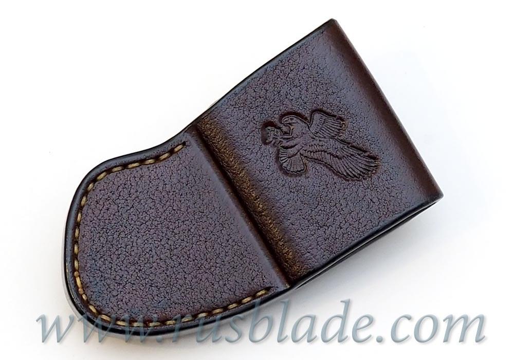 CUSTOM Handmade ZT 0801 Zero Tolerance 0801 Leather Sheath Brown - фотография