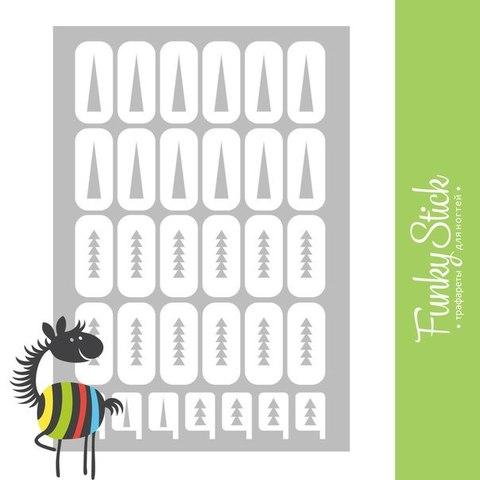 Трафареты для ногтей Pifagor №1 купить за 149руб