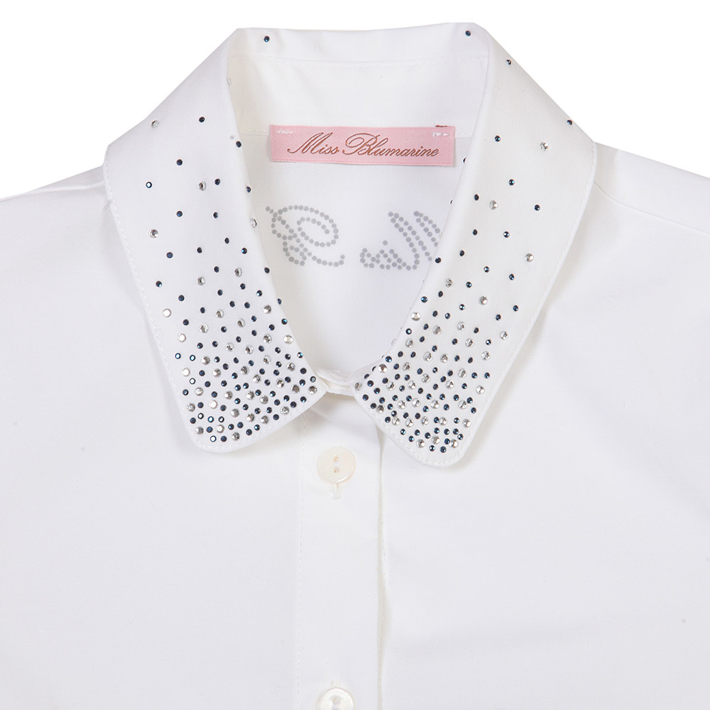 Рубашка для девочки Miss Blumarine