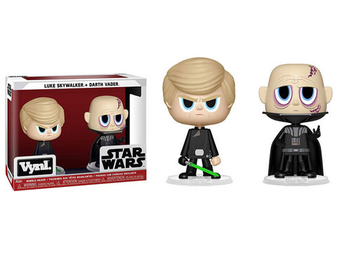Funko VYNL: Star Wars: Darth Vader & Luke Skywalker (ROTJ)