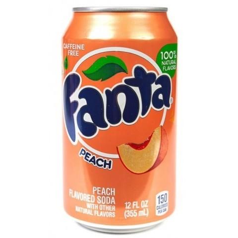 Fanta Peach Фанта Персик 0,355 л