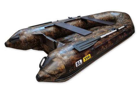 Надувная ПВХ-лодка Солар SL - 350 (дубок)