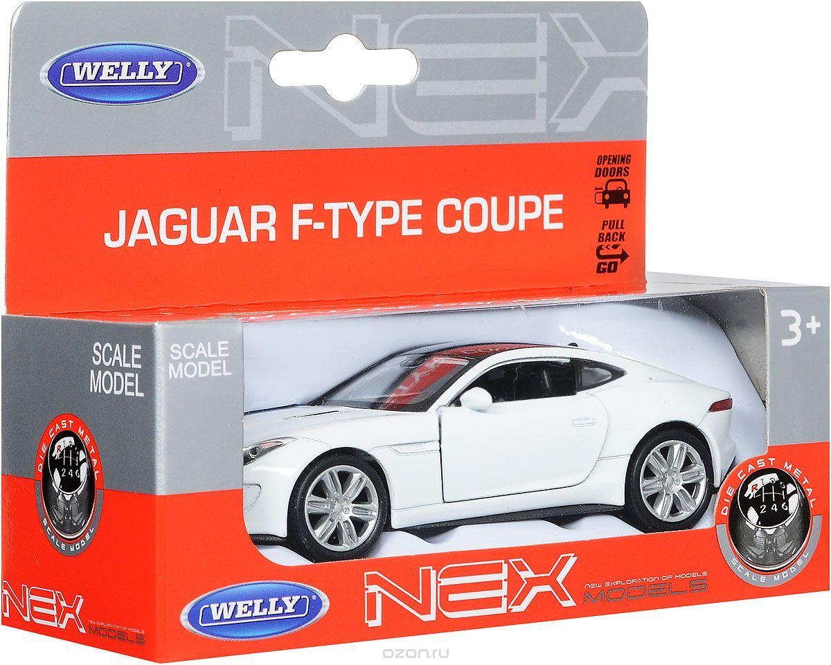 Машинка-игрушка Jaguar F-Type Coupe