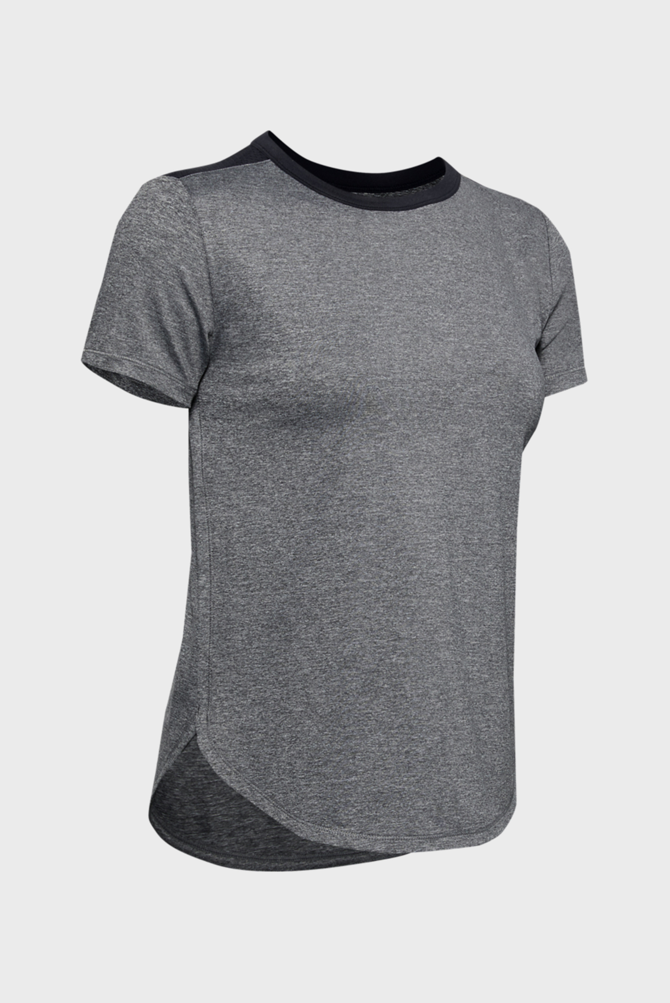 Женская темно-серая футболка UA Armour Sport Crossback SS Under Armour