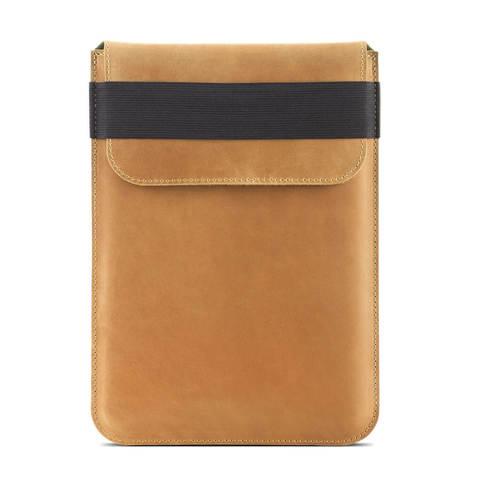 Винтажный вертикальный кожаный чехол Gmakin для iPad