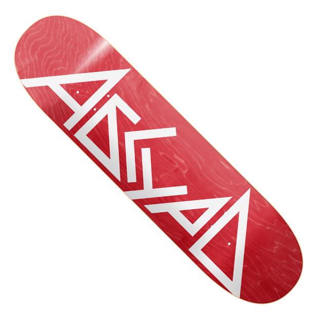 Дека для скейтборда АБСУРД Logo SS21 (Red)