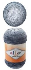 Пряжа Alize Softy Plus Ombre Batik цвет 7288