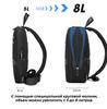 Однолямочный рюкзак  ARCTIC HUNTER XB00109 Синий