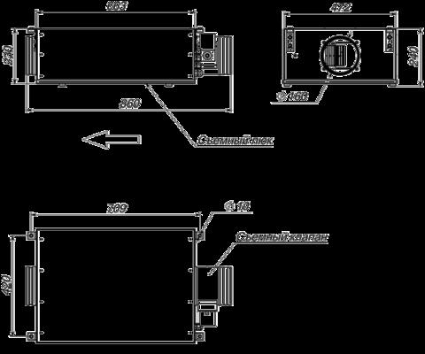 Приточная установка Breezart 550 Lux SB