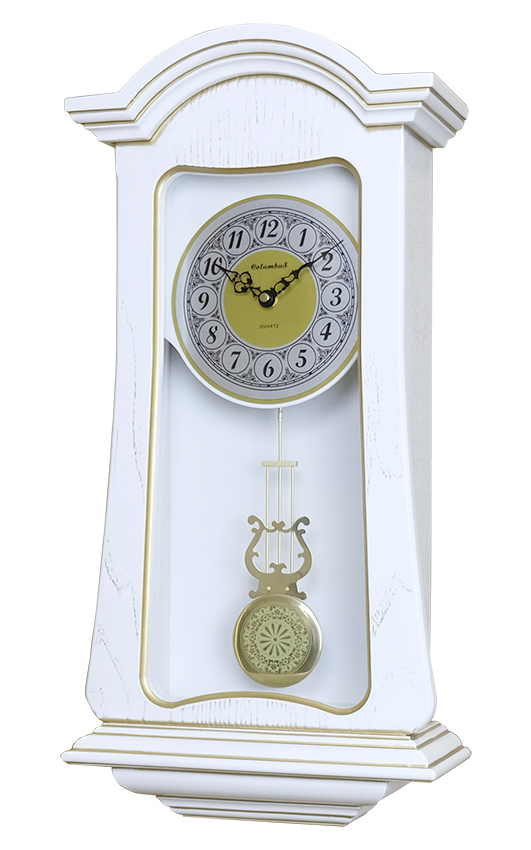 Настенные часы Columbus CO-1828-PG-WH