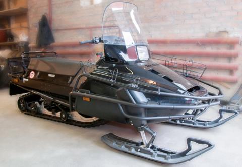 Бампер снегохода Yamaha VK540 трехлучевой