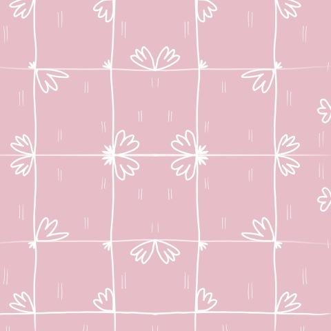 Лютики (розовый)