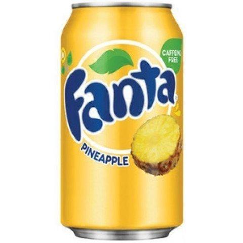 Fanta Pineapple Фанта Ананас 0,355 л