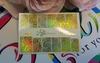 Фольга для дизайна ногтей золото галогеновое 46 купить за 120руб