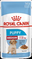 Пауч для щенков собак средних пород, Royal Canin Medium Puppy