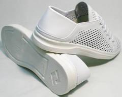 Летние кеды туфли на белой подошве женские ZiKo KPP2 Wite.
