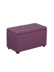 Пф-800-Я Пуфик квадратный (фиолетовый) с ящиком для хранения