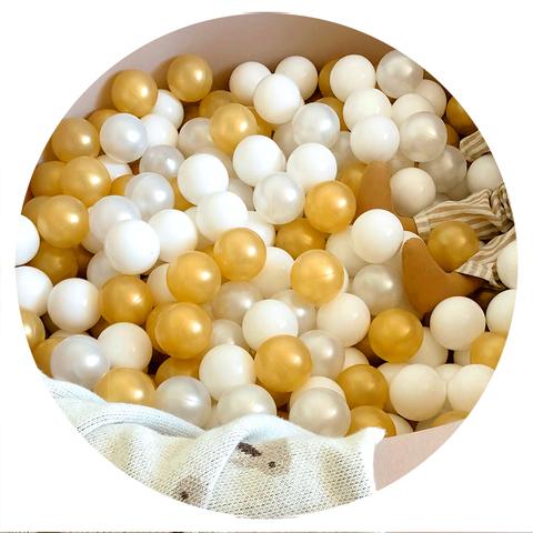 Набор шариков 100 шт. для сухого бассейна комплект