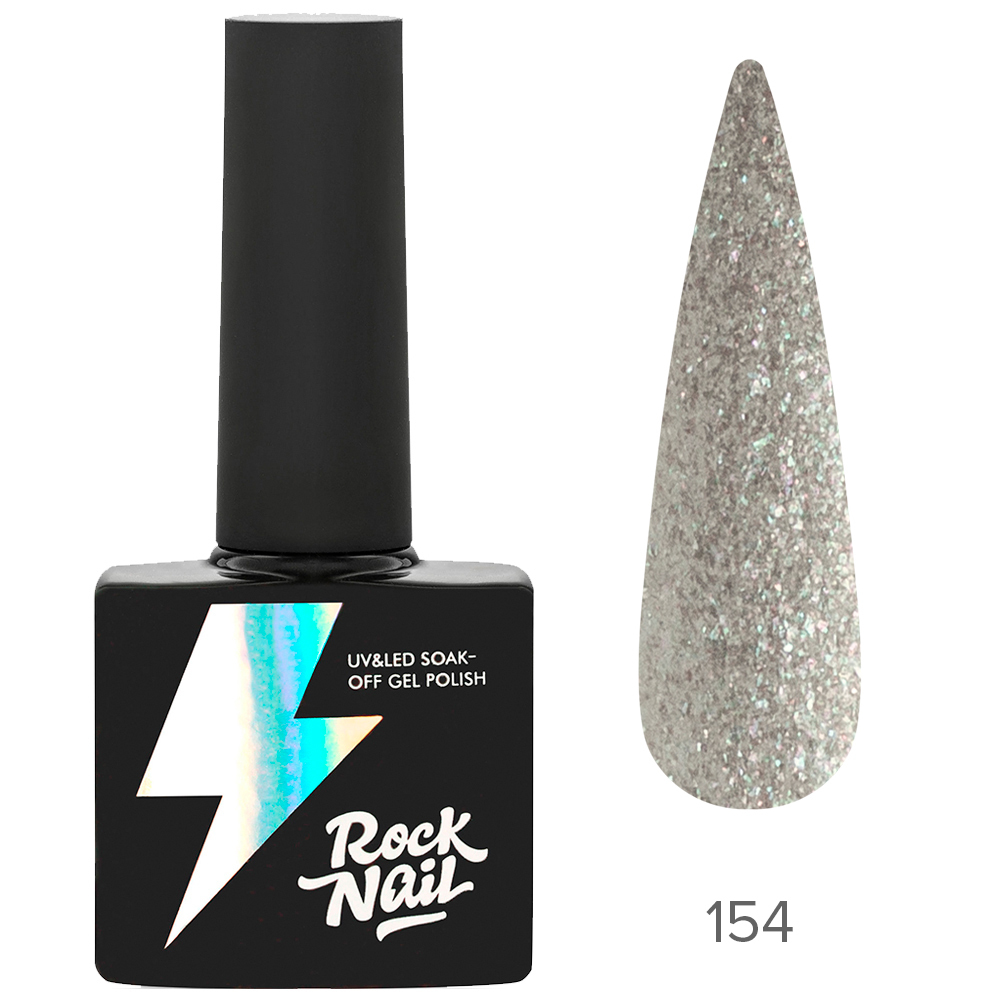 Гель-лак RockNail 154 Snowflake 10мл