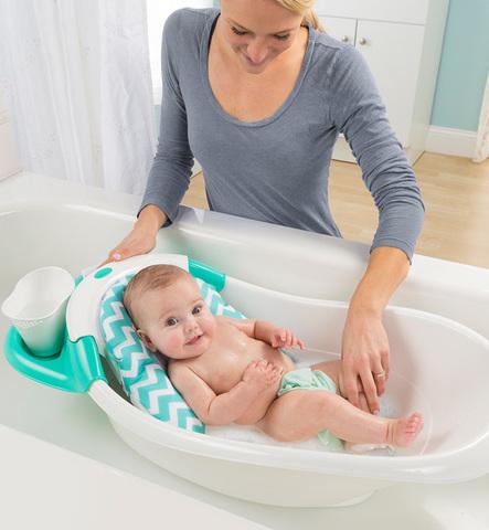 Summer Infant Warming Waterfall Детская Ванночка с гидромассажем