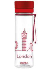 Фляга для воды Aladdin Aveo 0,6L London Красная