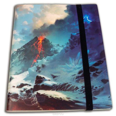 Альбом Blackfire c 20 встроенными листами 3х3 - Mountain