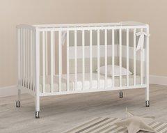 Кровать детская Бьянка на колесиках белый