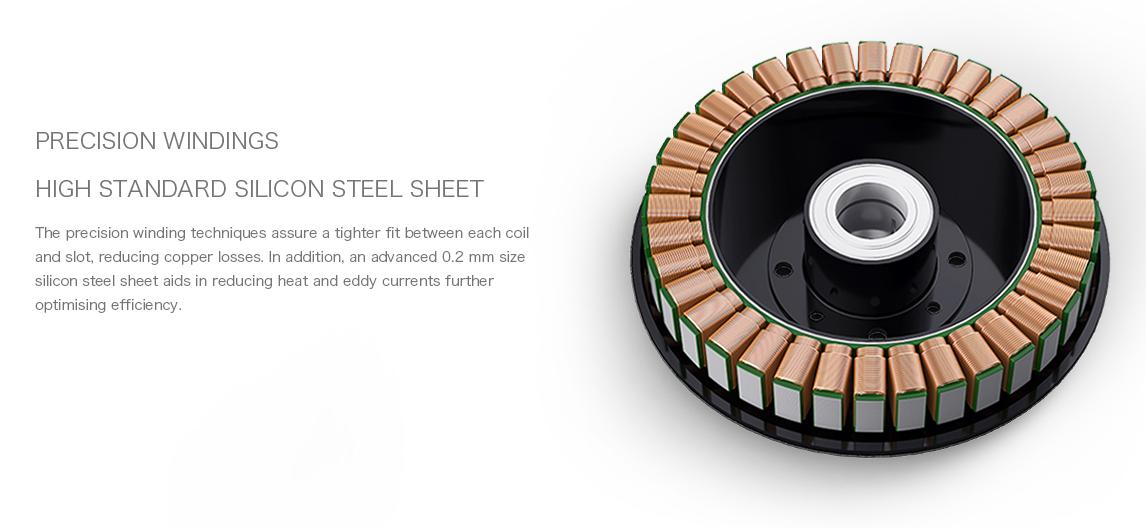Сверхпроизводительная схема позволяет достичь тяги 18 грамм на 1 Ватт мощности