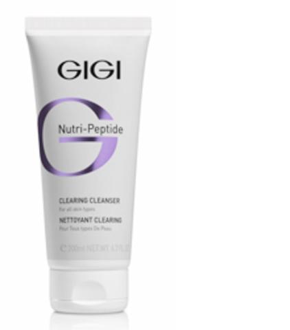 GiGi Nutri-Peptide   Clearing Cleanser Пептидный Очищающий гель, 200 мл.
