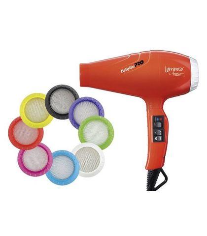 Фен BaByliss Pro Luminoso, 2100 Вт, 2 насадки, оранжевый