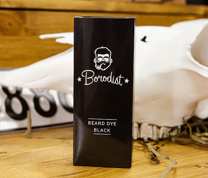 CARE118-1 Черная краска для бороды от Borodist (Black) фото 02