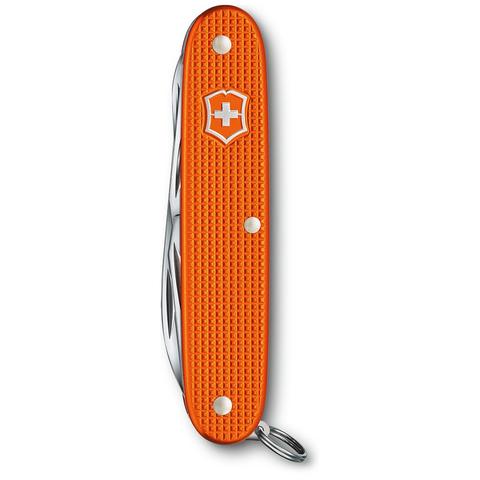 Нож Victorinox Pioneer X Alox LE 2021, 93 мм, 9 функций, алюминиевая рукоять, оранжевый