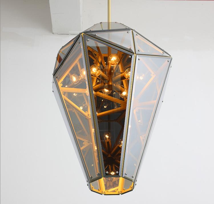 Потолочный светильник копия Empire by Lindsey Adelman (дымчатый)