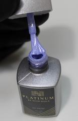 Купить перламутровый голубой гель-лак PLATINUM