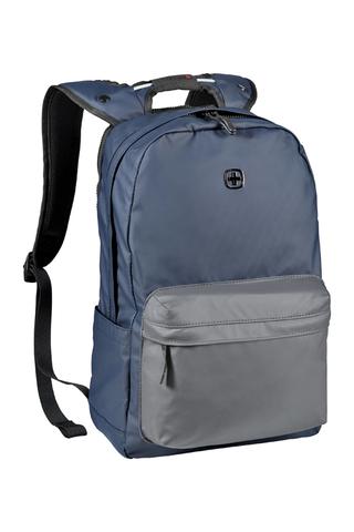 Городской рюкзак с водоотталкивающим покрытием сине-серый (18 л) WENGER Photon 605035
