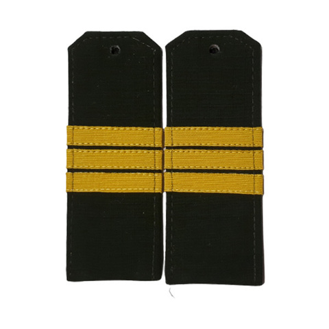 Погоны оливковые сержант с шелковым галуном (рип-стоп,на пластике)