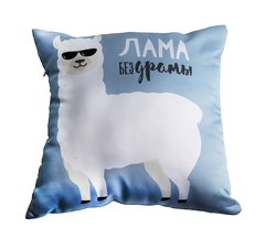 Подушка декоративная Gekoko «Лама без драмы» 2