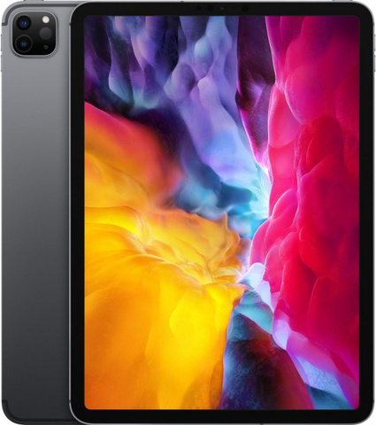 Планшет Apple iPad Pro 11 Wi-Fi + Cellular 256GB (2020) (Серый космос)