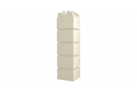 Наружные углы к фасадным панелям GRAND LINE Кирпич Клинкерный Стандарт  Молочный