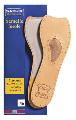 Анатомические бескаркасные стельки для обуви на высоком каблуке Semelle Insolle 3/4 DAMES TALONS HA, Saphir, (4 размера)