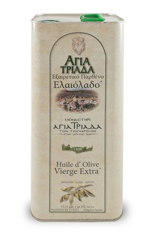 Оливковое масло греческое Agia Triada 5 л