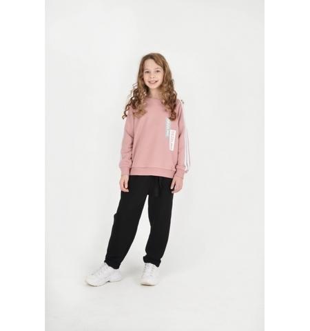 Свитшот для девочки детская розовая